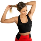 Mesh Sports Bra, black, Gavelo