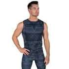 Sniper Sleeveless Tee, blue, Gavelo