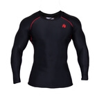 Hayden Compression Longsleeve, black/red, Gorilla Wear