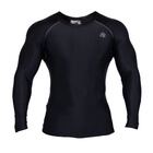 Hayden Compression Longsleeve, black/grey, Gorilla Wear