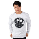 Bloomington Crewneck Sweatshirt, mixed gray, Gorilla Wear
