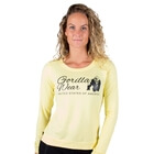 Riviera Sweatshirt, light yellow, Gorilla Wear