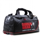 Jerome Gym Bag, black/red, Gorilla Wear
