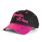 Louisiana Glitter Cap, black/pink, Gorilla Wear