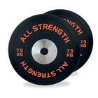 Competition Bumper Plates, 2 x 7.5 kg, AllStrength