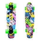 Pennyboard Colory 22, yellow/green, Worker