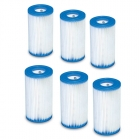 Filter A, 6-Pack, Intex