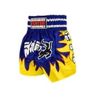 Thai Shorts, yellow/blue, Fighter